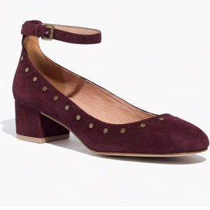 Madewell Inez Suede Block Heels